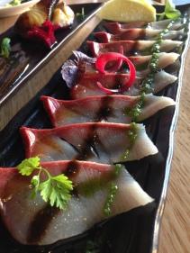 Kingfish Carpaccio - Ichitaro Dining, Adelaide