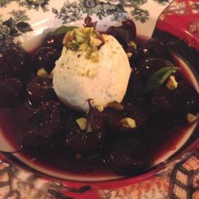 Pho Mai - Fromage Blanc, cherries, vanilla, pistachio