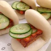 Pork Katsu Steamed Bun - Cho Cho San, Sydney