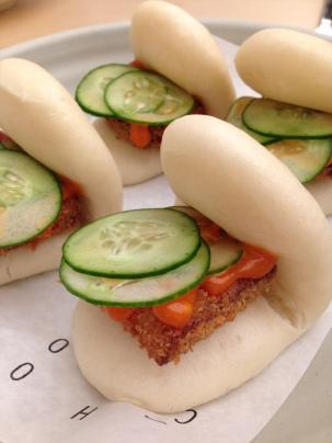 Pork Katsu Steamed Bun from Cho Cho San, Sydney