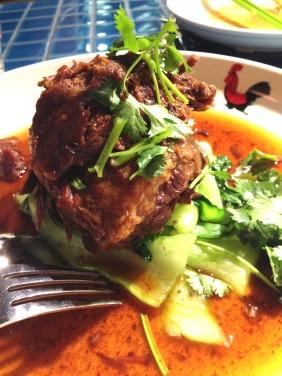 Slow Braised Thai Beef with lemongrass, cinnamon, cardamom