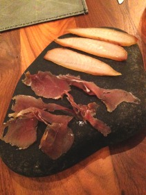 Mackerel ham, pork ham