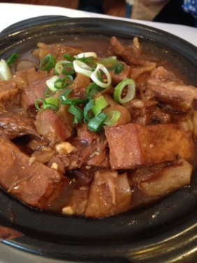 Chinese Belly and tender beef casserole