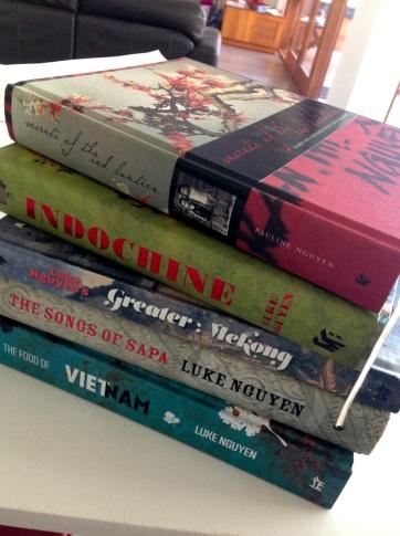 My stash of Luke books