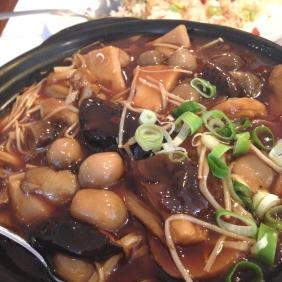 Mixed Mushroom Hot Pot