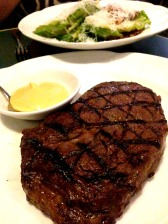 Scotch fillet steak with Miso Hollandaise - a beautiful steak from Sean's Kitchen, Adelaide