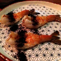 Prawn with Davidson Plum from Orana