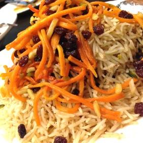 Saturday special of Kaabeli Uzbeki - Afghani lamb pilaf - basmati rice, lamb shoulder, carrot, sultanas