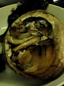 The amazing abalone at Franklin, Hobart