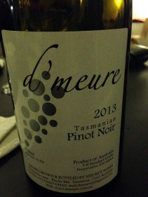 A great Tassie Pinot!