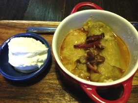 Sarma (Cabbage Rolls) - Pickled cabbage leaves with pork, beef and rice - slow cooked and served with yoghurt