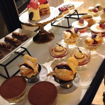 The dessert trolley!