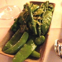 Pease and Beans, Lemon and Mint Butter