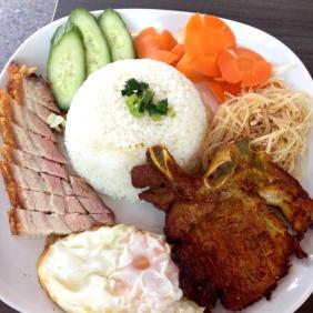 Combination Rice Dish