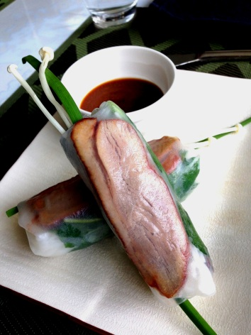 Duck Rice Paper Roll