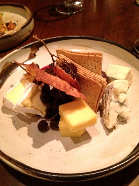 Local artisanal cheeses
