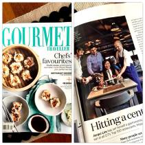 My article in the Gourmet Traveller, September 2015 issue
