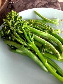 Yummy greens!