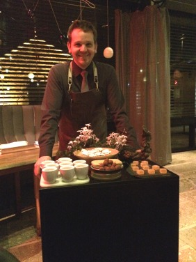 The petit four trolley