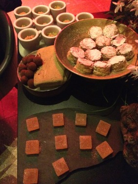 The petit four offerings