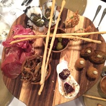 Sharing board, selection of house prepared appetisers