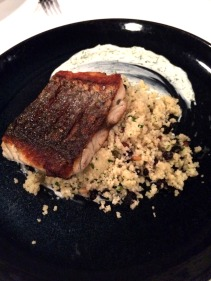 Barramundi with cous cous