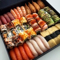The Deluxe Sushi Platter from Sushi Planet, Adelaide