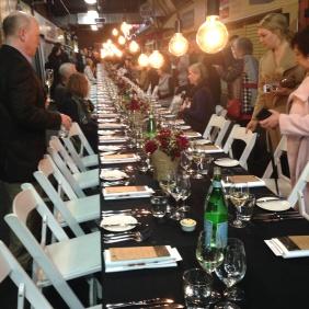 The long, long, long table