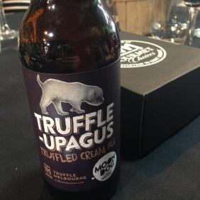 We even got truffle ale!