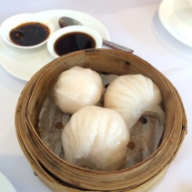 Har gow - prawn dumplings