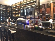 The new Hilton bar