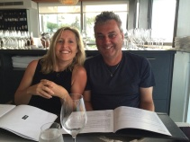 My gorgeous friends and dining partners, Jane and Greg
