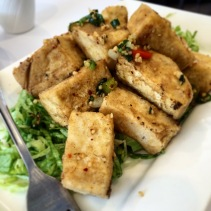 Salt and pepper beancurd