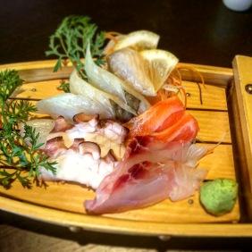 Chef's Selection of Seasonal Sashimi