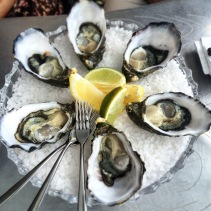 Tassie oysters