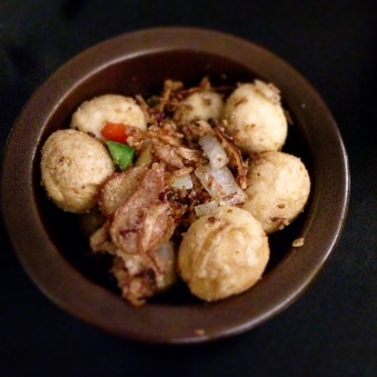 Salt and Pepper Quail Eggs