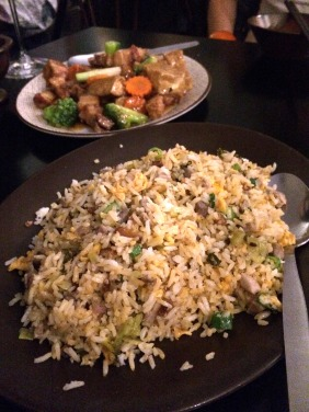 House Fried Rice with Shredded Roast Duck and Preserved Vegetables