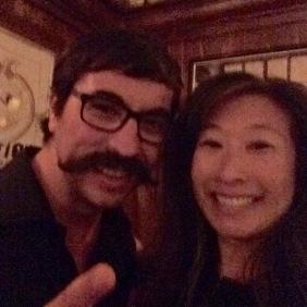 The man with the moustache... Dennis Roman!