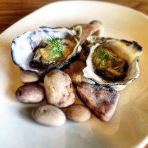 Coffin Bay Oysters with marmalade sago jelly