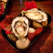 Smoky Bay oysters with Australian-grown yuzu