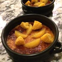 Vanilla Catalana, orange and cinnamon