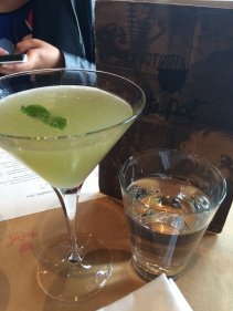 Yum Tang Gwa: Cucumber, lime, vodka, mint