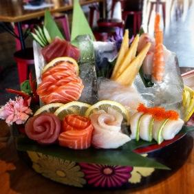 The Deluxe Sashimi