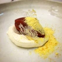 Soured plum, custard crème, citrus wiz fizz