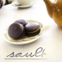 Macarons - passionfruit, white chocolate, lavender