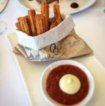 Potato churros