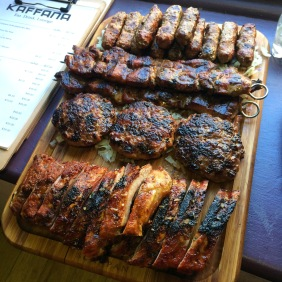 The meat platter
