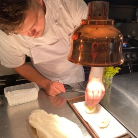 Jack plating up the bao