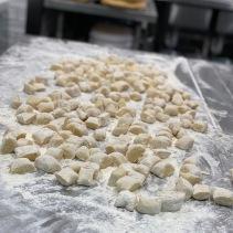 The finished gnocchi
