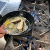 Kingfish in the pan